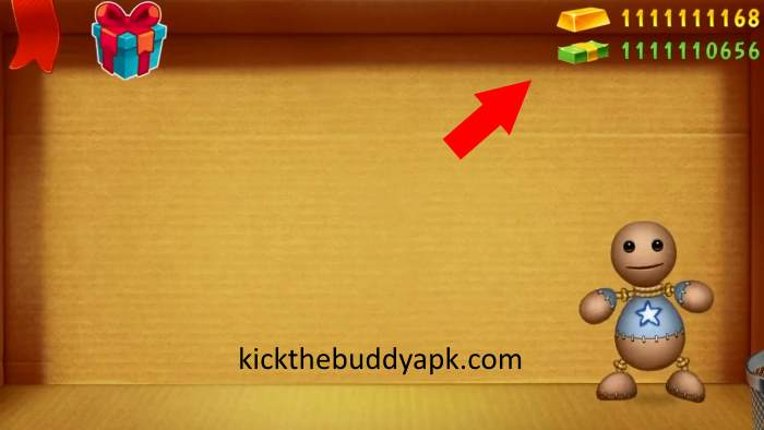 Unlimited Money And Gold In Kick The Buddy