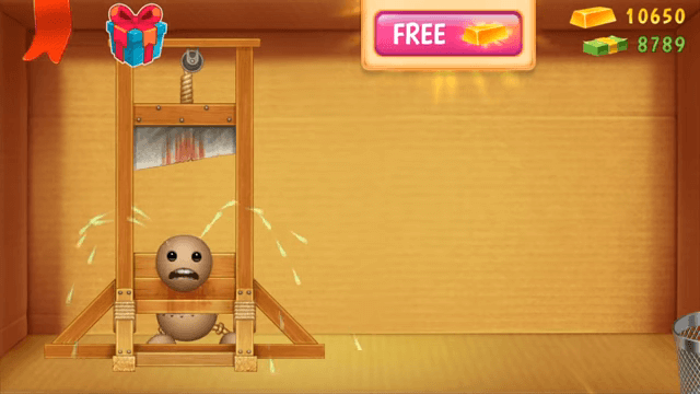 guillotine in kick the buddy